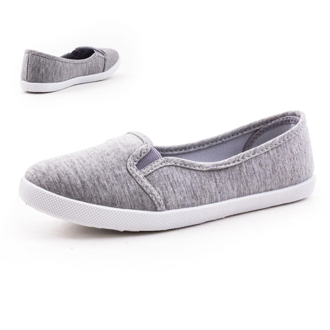 neu damen sneaker sommer ballerinas slipper schuhe gr 36. Black Bedroom Furniture Sets. Home Design Ideas