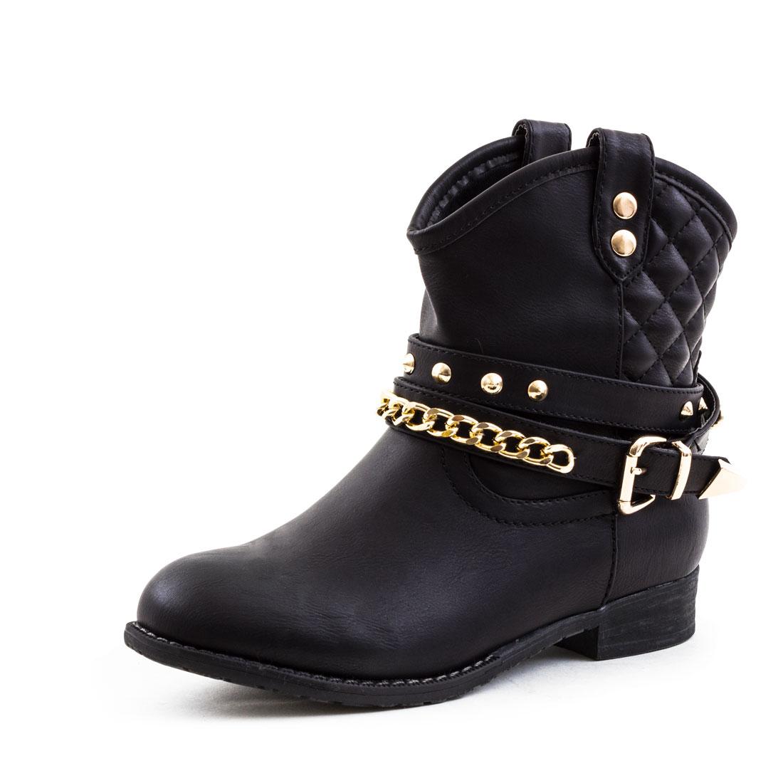 neu damen western cowboy stiefeletten worker boots schuhe 36 37 38 39 40 41 ebay. Black Bedroom Furniture Sets. Home Design Ideas