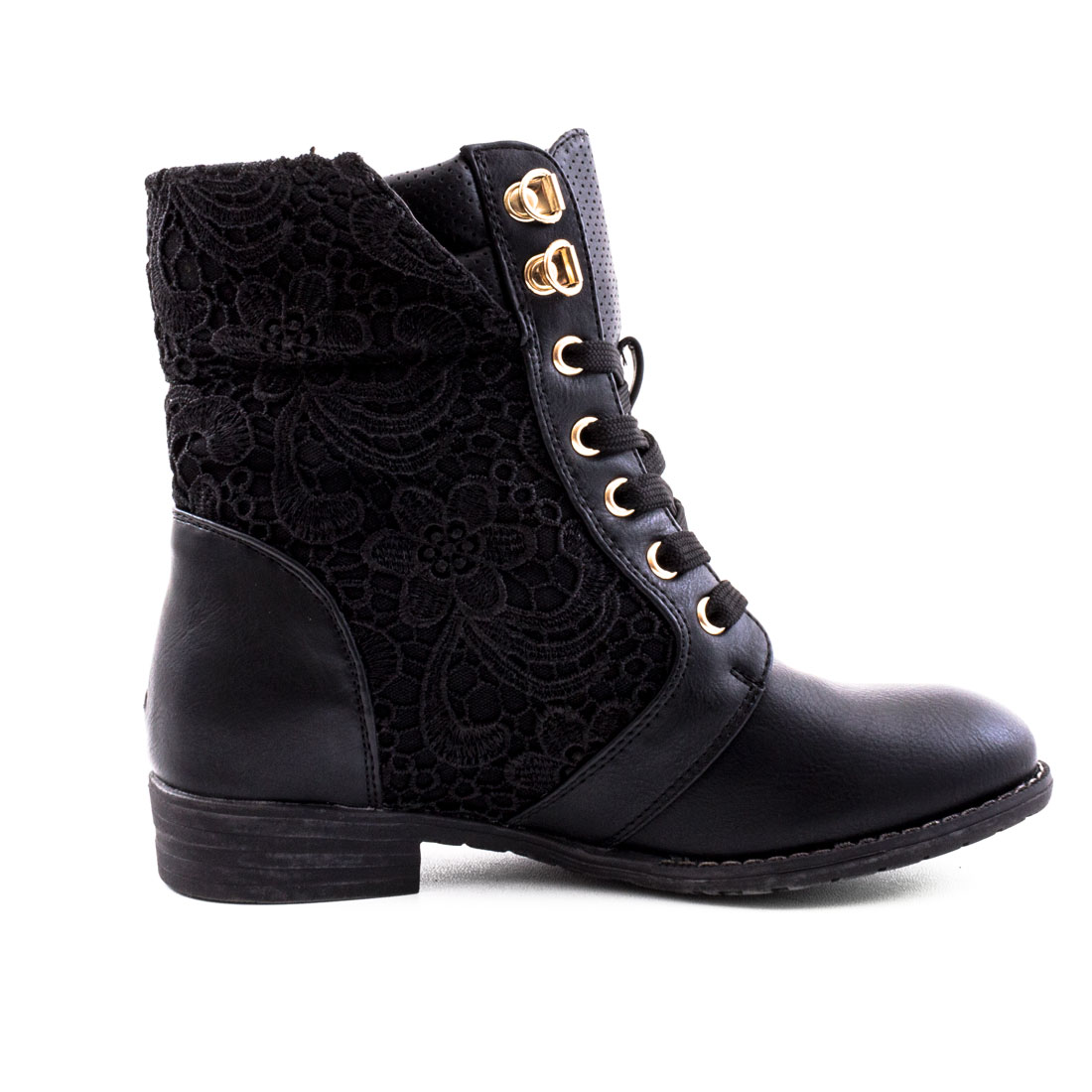 neu damen biker boots spitze schn r stiefel nieten schuhe gr 36 37 38 39 40 41 ebay. Black Bedroom Furniture Sets. Home Design Ideas