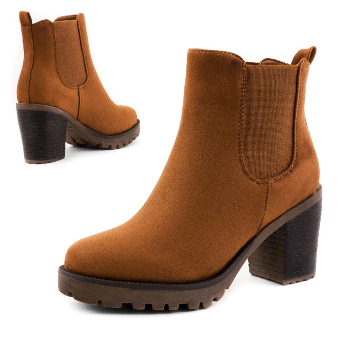 neu damen kurzschaft stiefeletten plateau boots schuhe gr 36 37 38 39 40 41 ebay. Black Bedroom Furniture Sets. Home Design Ideas