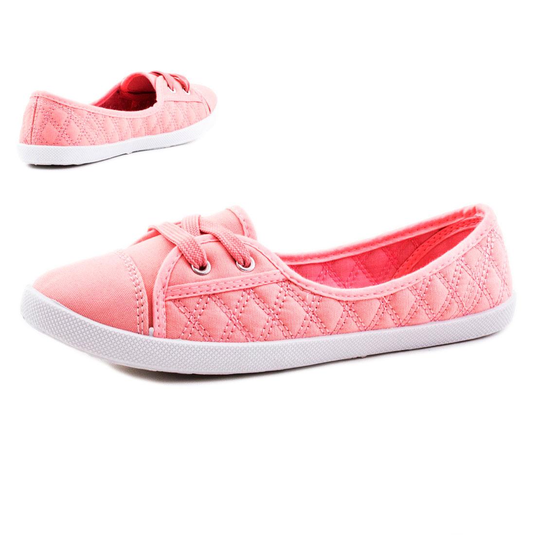 neu damen sommer schn r ballerinas schuhe sneaker wow gr 36 37 38 39 40 41. Black Bedroom Furniture Sets. Home Design Ideas