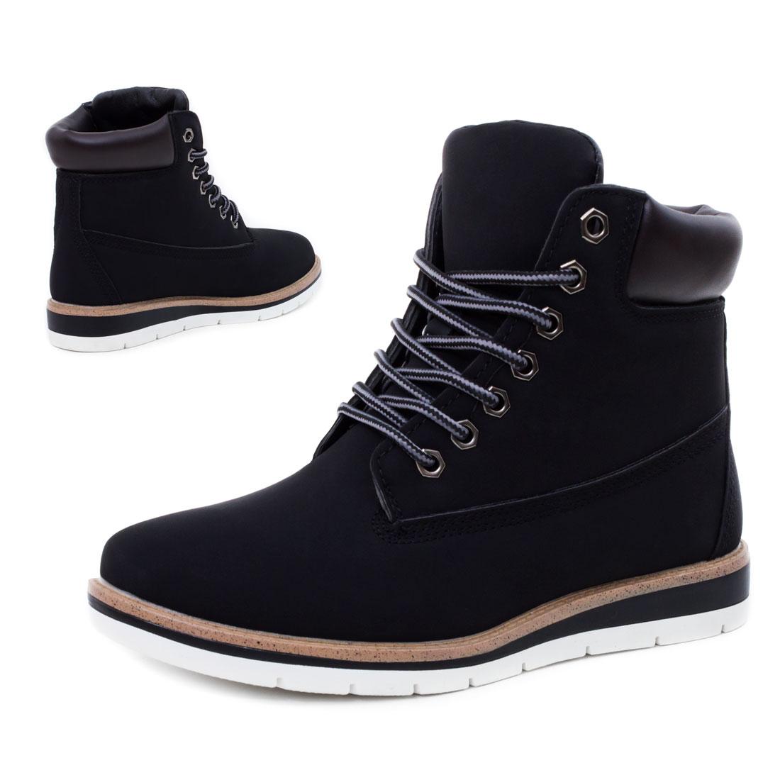 Neu-Damen-Worker-Boots-Schnuer-Stiefeletten-Groesse-36-37-38-39-40-41
