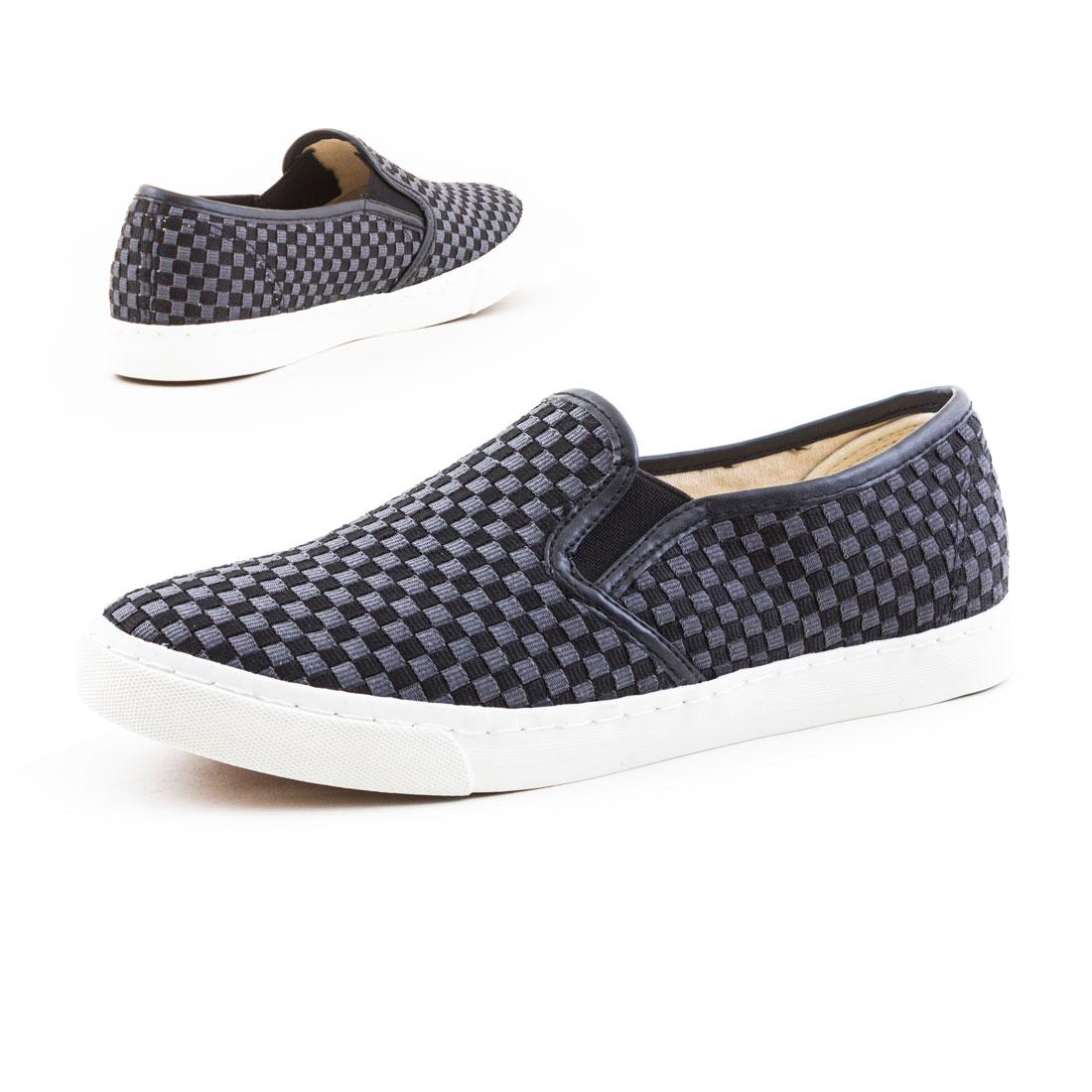 neu damen sneaker slipper canvas sport sommer schuhe gr 36. Black Bedroom Furniture Sets. Home Design Ideas