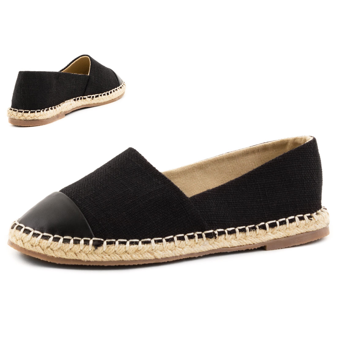 neu damen strass glitzer espadrilles sommer flats schuhe gr 36 37 38 39 40 41 ebay. Black Bedroom Furniture Sets. Home Design Ideas