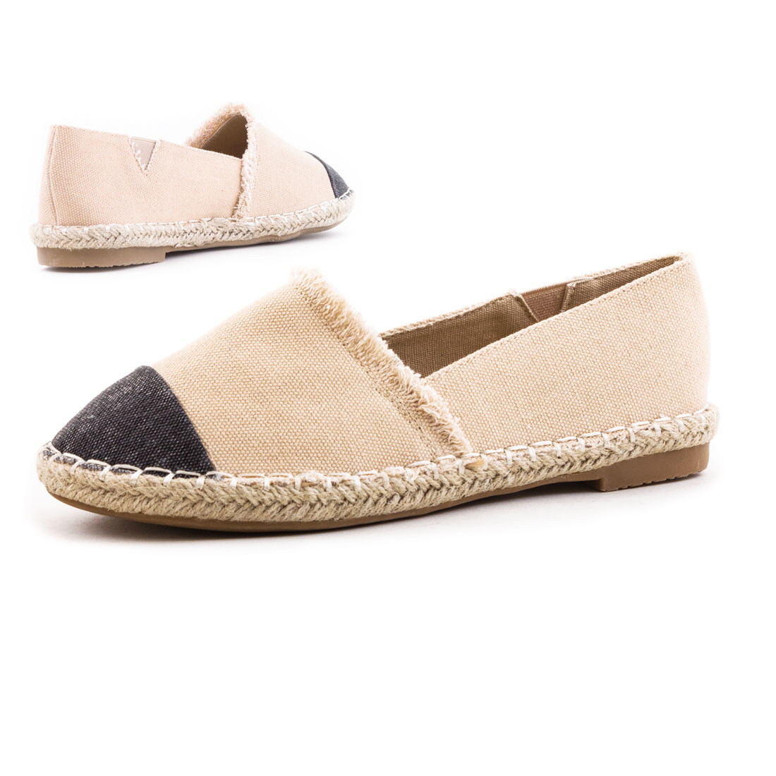 neu damen espadrilles leichte sommer slipper schuhe bast gr 36 37 38 39 40 41 ebay. Black Bedroom Furniture Sets. Home Design Ideas