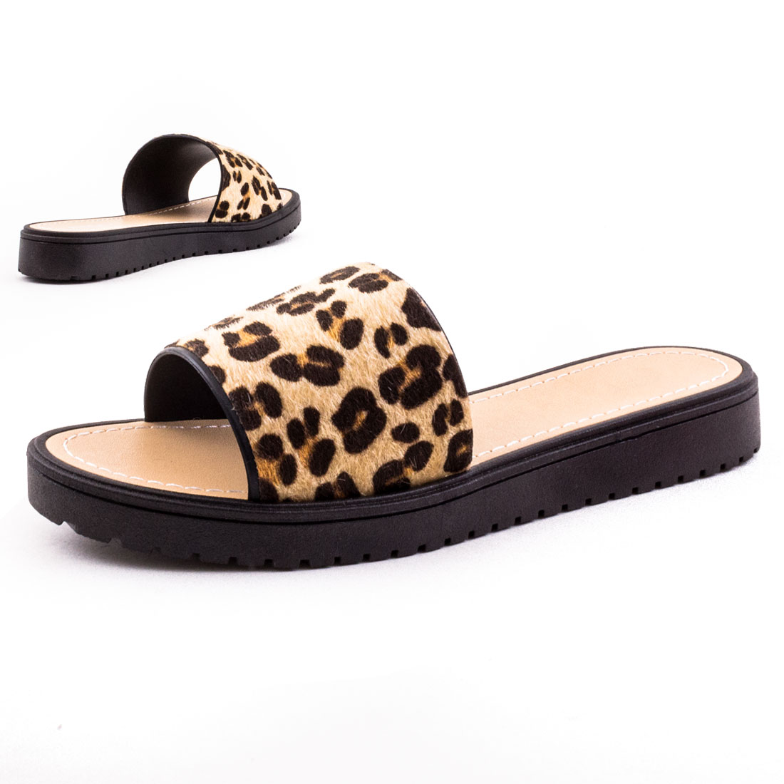 neu damen sommer sandalen slip on schlupf haus schuhe gr 36 37 38 39 40 41 ebay. Black Bedroom Furniture Sets. Home Design Ideas