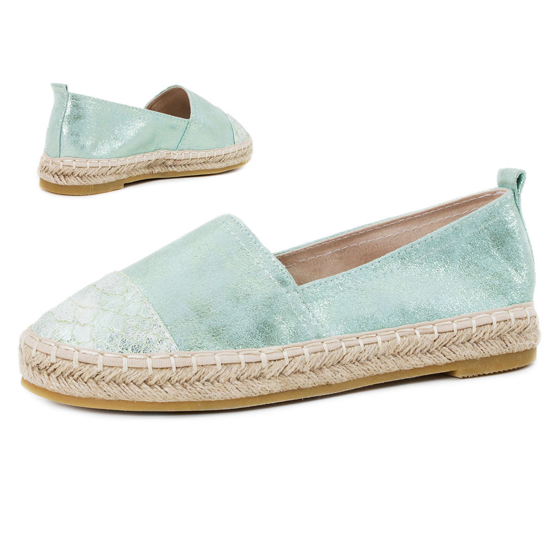 damen metallic espadrilles strass pailletten glitzer schuhe 36 37 38 39 40 41 ebay. Black Bedroom Furniture Sets. Home Design Ideas