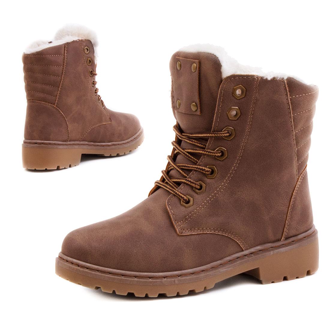 neu damen winter boots schuhe schn r stiefel gef ttert gr e 36 37 38 39 40 41. Black Bedroom Furniture Sets. Home Design Ideas