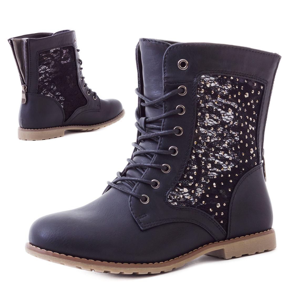 damen schuhe spitze strass boots stiefel stiefeletten gr e 37 38 39 40 41 42 43 ebay. Black Bedroom Furniture Sets. Home Design Ideas