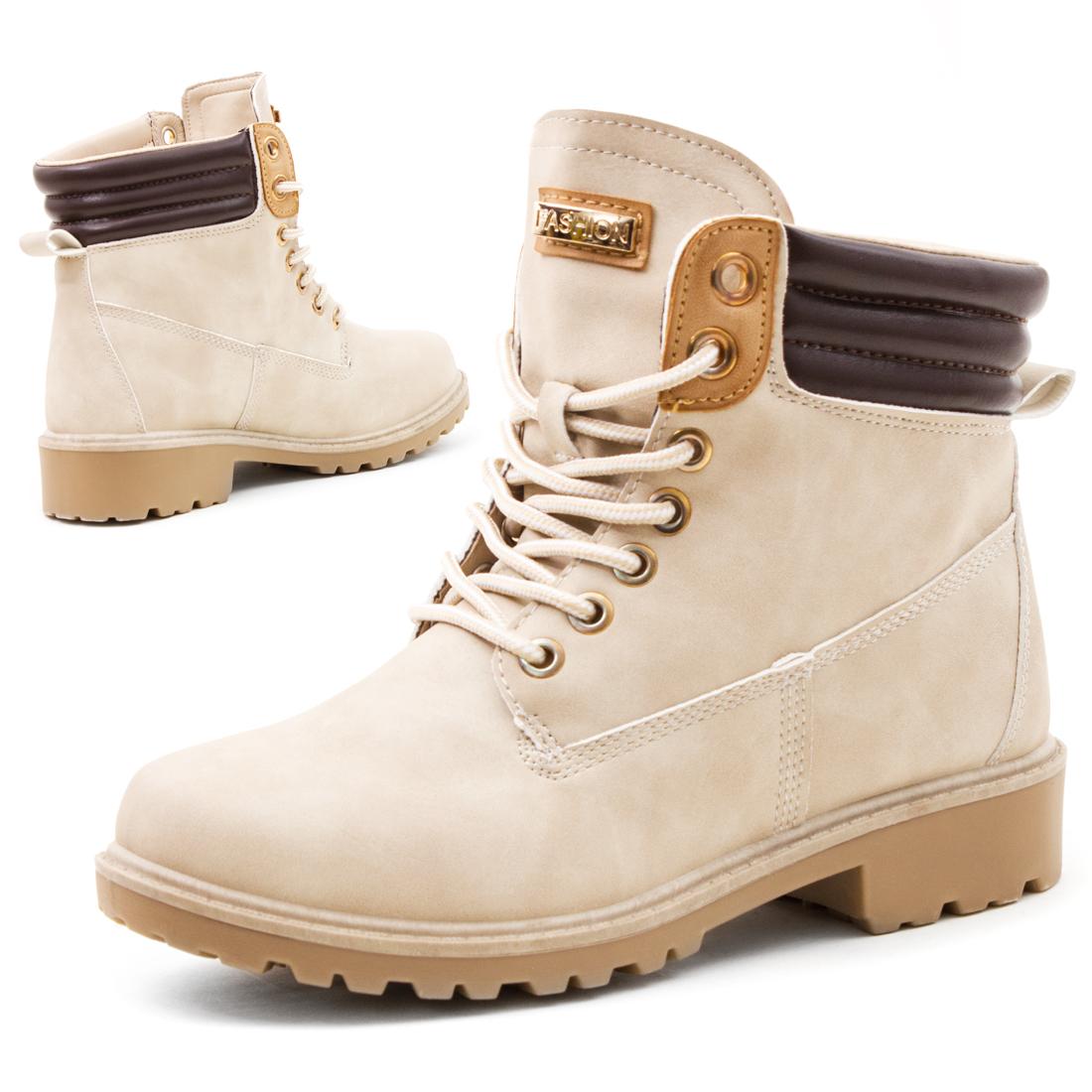 damen boots stiefeletten winterstiefel schn rschuhe in. Black Bedroom Furniture Sets. Home Design Ideas